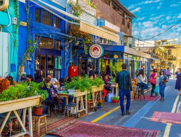 Jaffa flee market